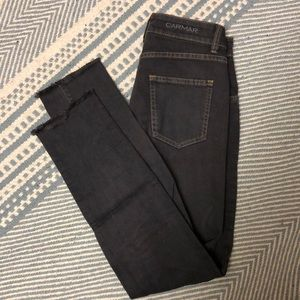 CARMAR fitted straight jean